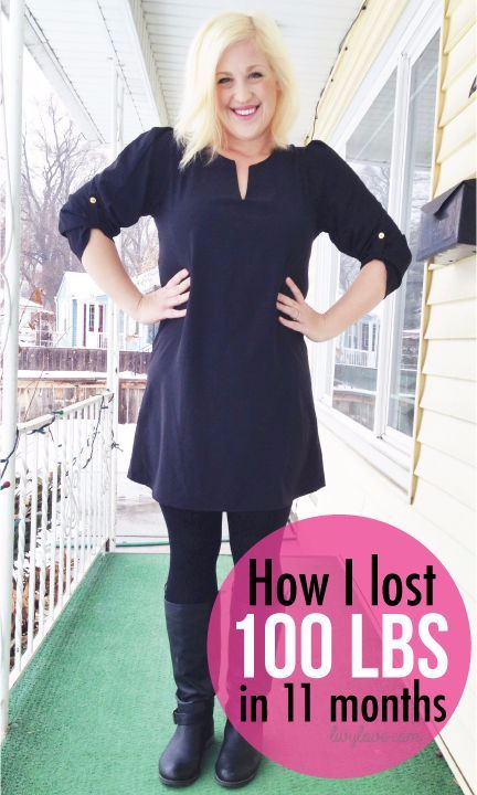 How I lost 100 lbs in 11 months