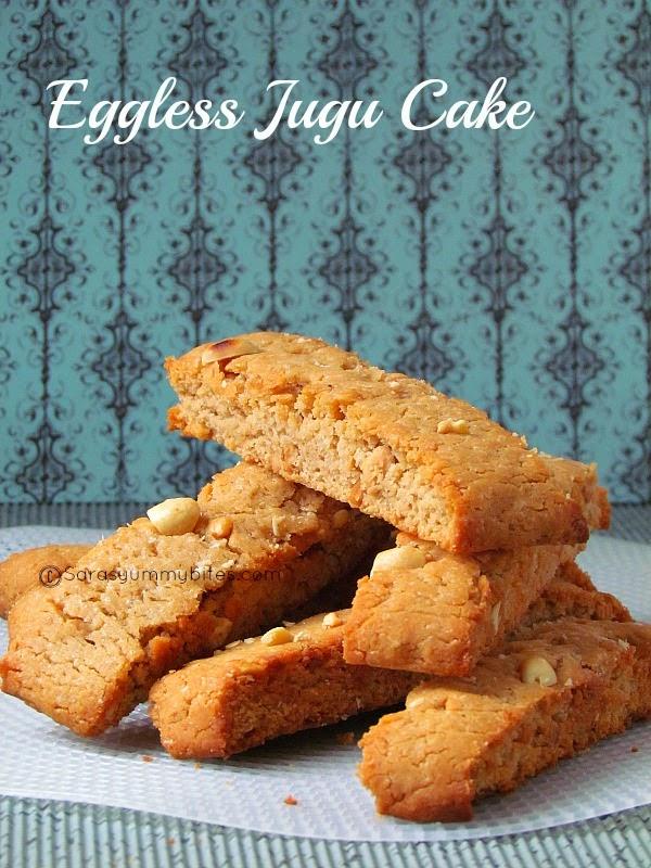 Eggless Jugu Cake