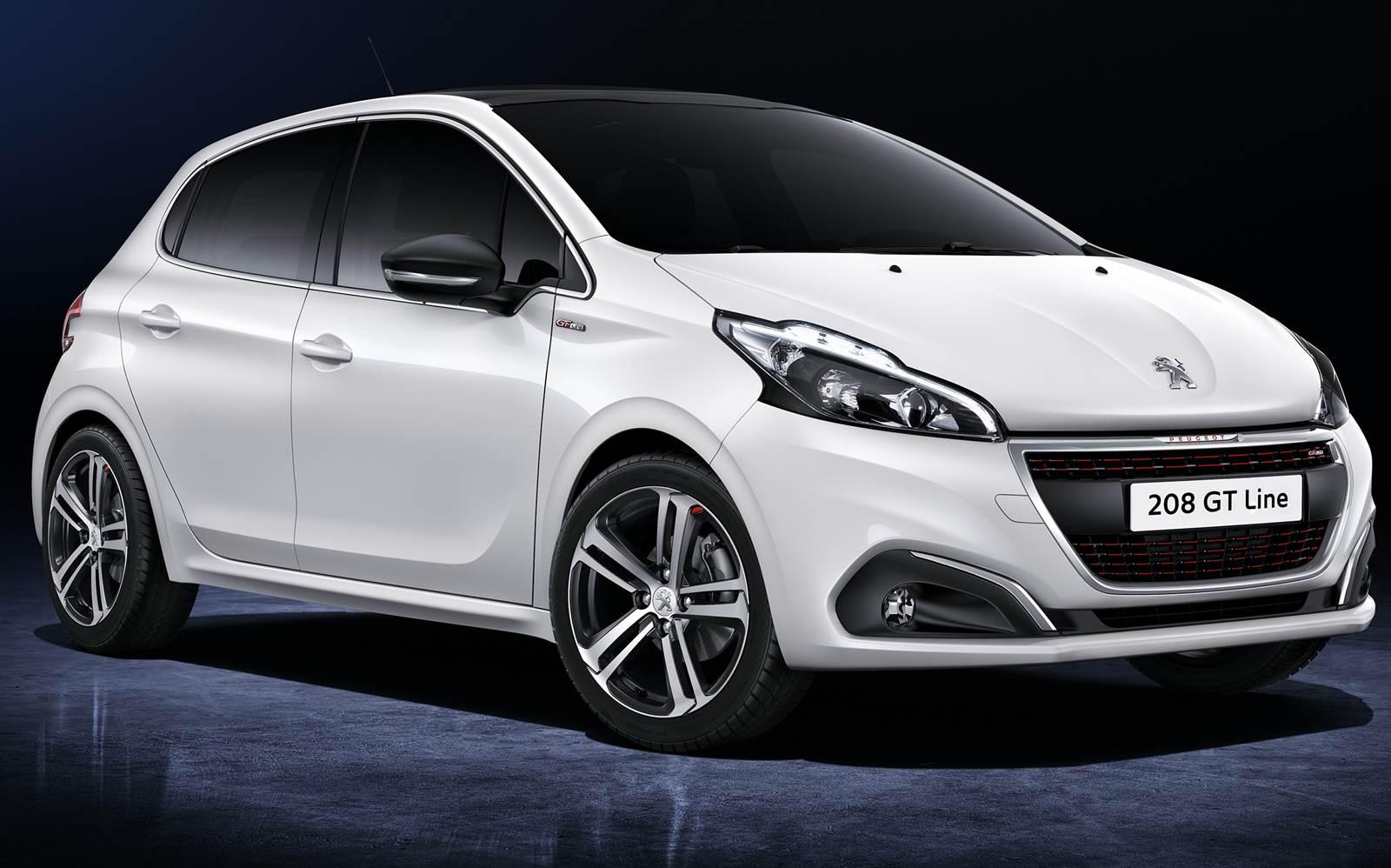 Novo Peugeot 208 2016 GT Line