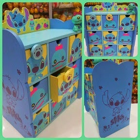Disney Stitch + Scrump Drawers