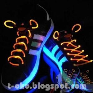 LED Light Shoelace,Barang Unik, Produk Unik