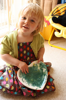 pottery painting in April