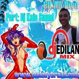 Cd Ao Vivo Aniversario do Dj. Edilan Mix 15.02.2013