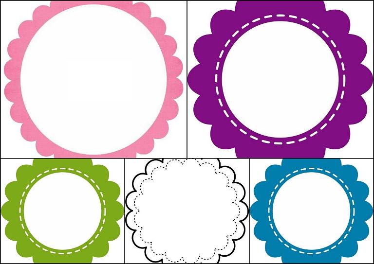 Etiquetas toppers o marcos con forma de flor para imprimir gratis oh my primera comuni n - Etiquetas comunion para imprimir en casa gratis ...