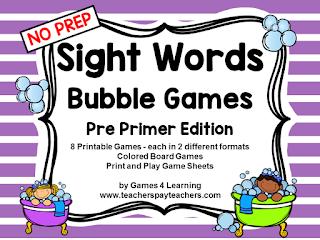 https://www.teacherspayteachers.com/Product/Sight-Words-2081022