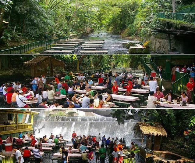 restoran di tengah tengah sungai-1