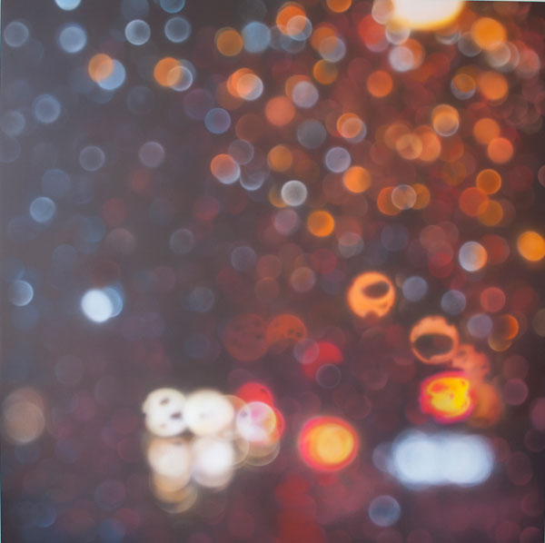 Beautiful Rain Paintings by Samantha Fields