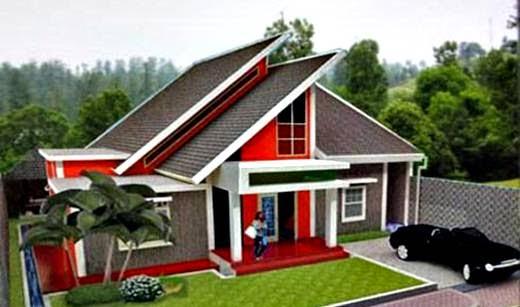 Atap Pelana Rumah Minimalis