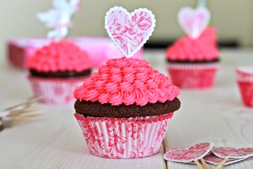 cupcake dia dos namorados valentines day