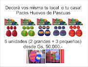 PACKS HUEVOS DE PASCUAS DECORATIVOS. Publicado por MKT Logística en 13:03 huevos de pascuas
