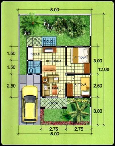 Desain Gambar Rumah Minimalis Type 36 Idaman | Desainer Rumah