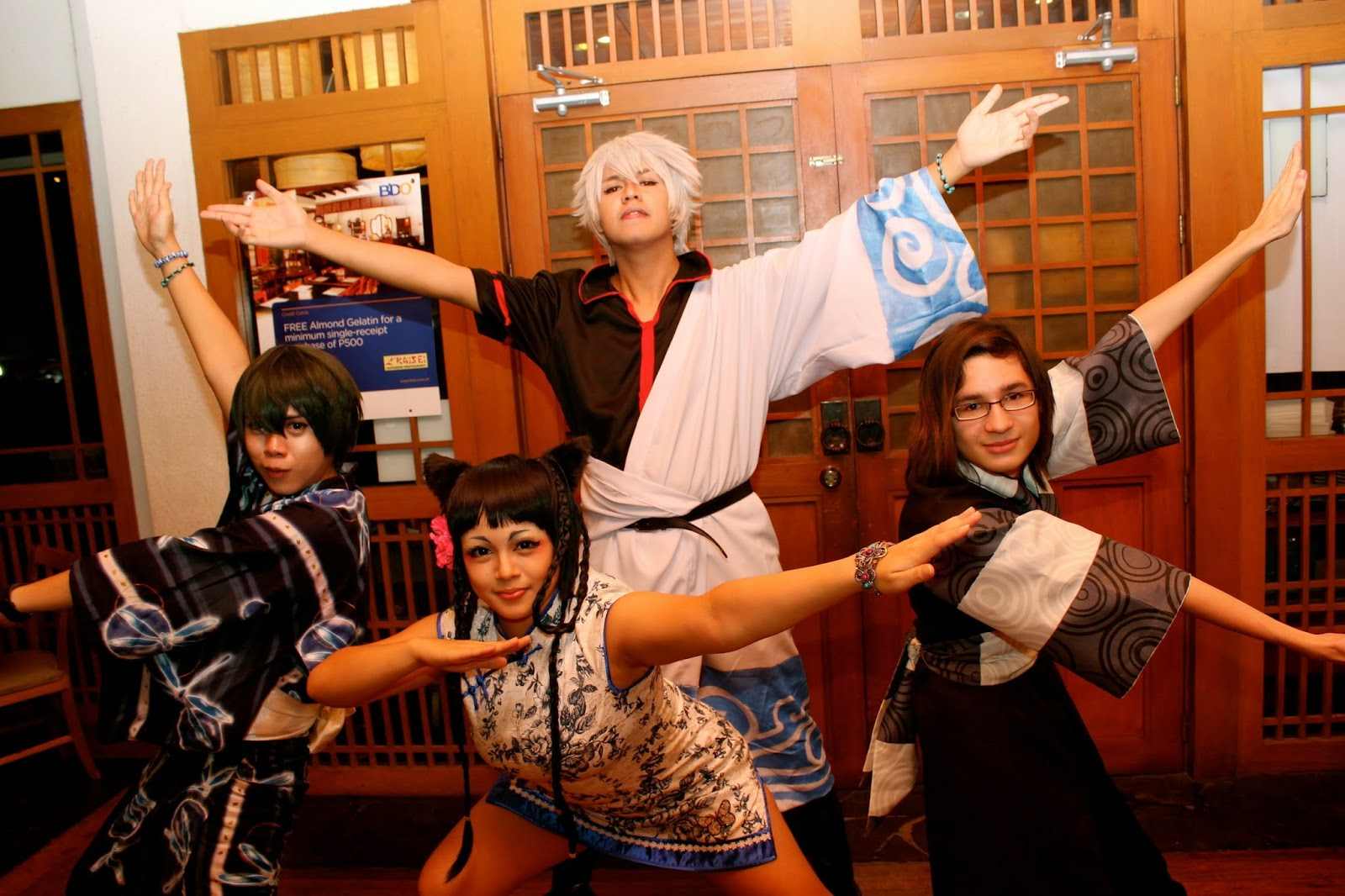 anime Crossover Sentai Pose Lara Novaes