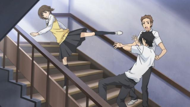 Anime romance dengan pertemuan yang unik