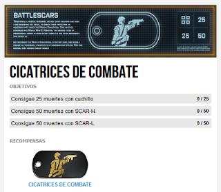 Misión Premium 1: Cicatrices de Combate