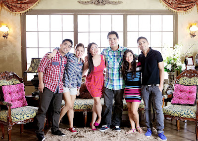 From left to right: Daniel and Marinel, Janice and Kerwin, May and Wilfred Photo by Studio Namu