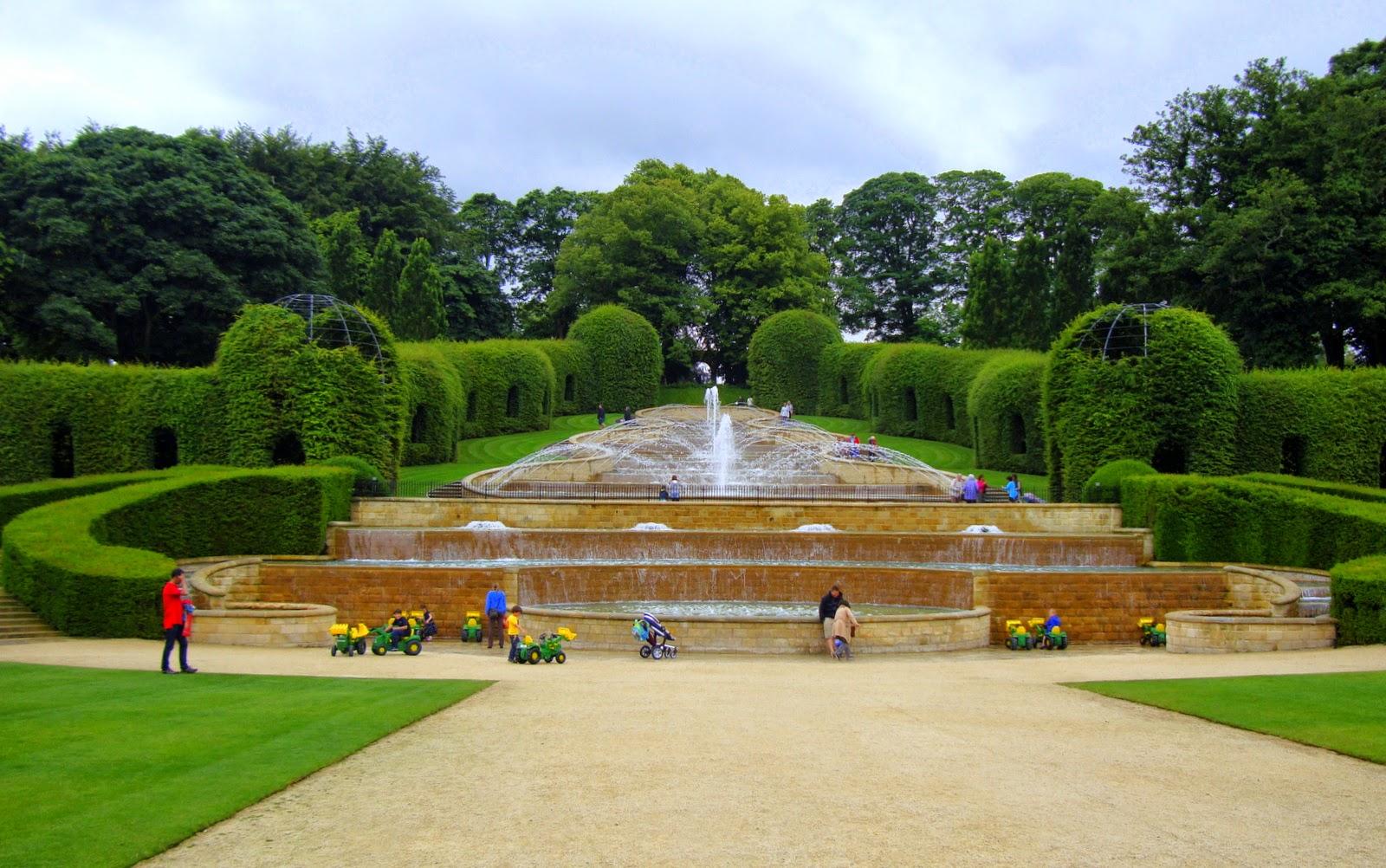 grand cascade alnwick garden