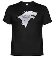 camiseta casa stark - Juego de Tronos en los siete reinos