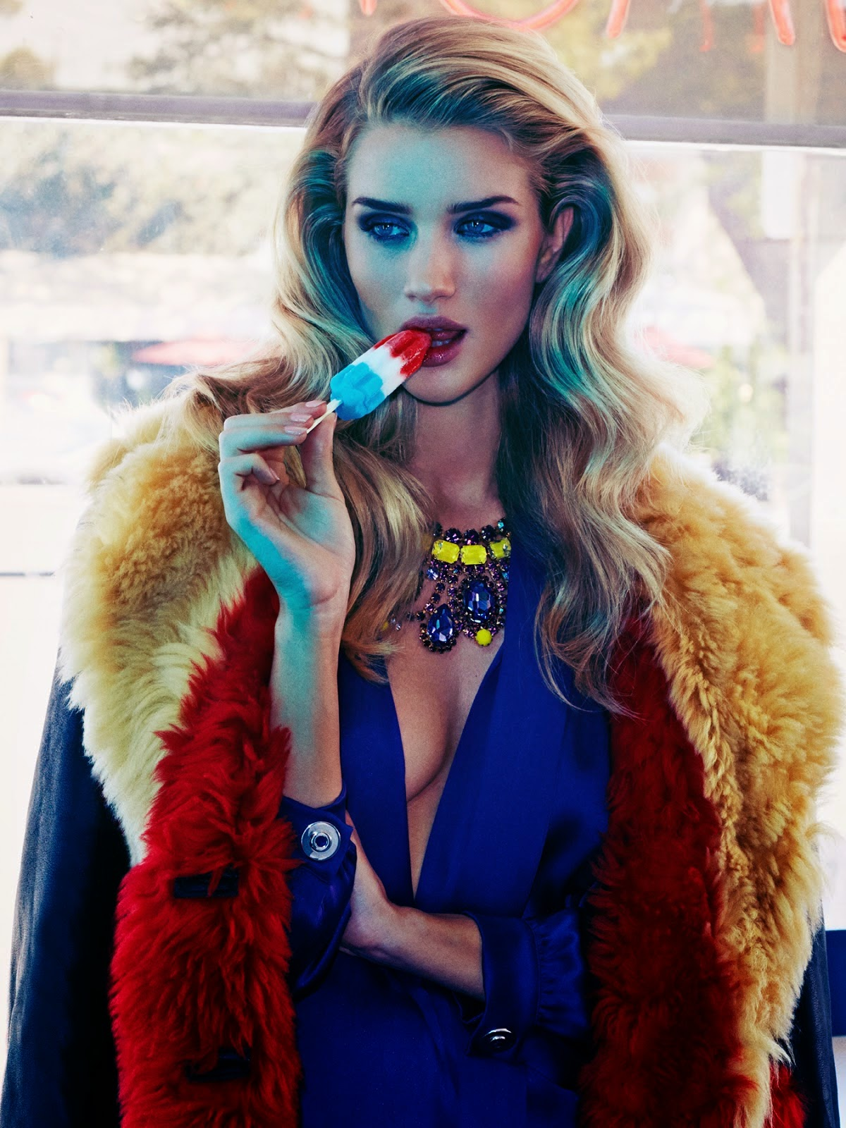 British supermodel Rosie Huntington-Whiteley By James Macari For Vogue Mexico November 2014