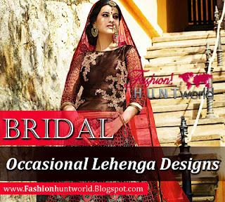 Latest Bridal Occasional Lehenga And Blouse