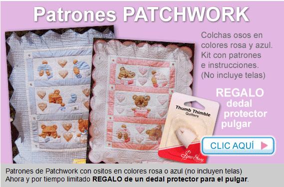 Patchwork en casa patchwork with love el mercadillo en casa - Patchwork en casa patrones ...