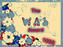 My 2nd WAS Blog Award!