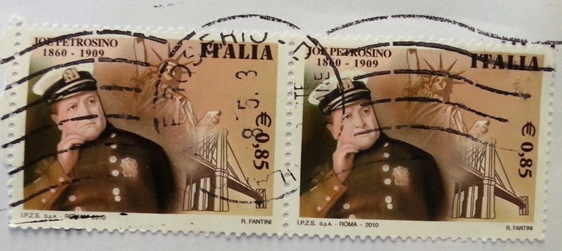 francobollo Joe Petrosino