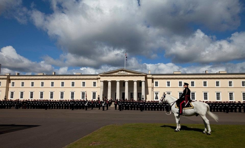 The Old College Adjutant at the Royal Military Academy Sandhurst (RMAS) Soverign's Parade.