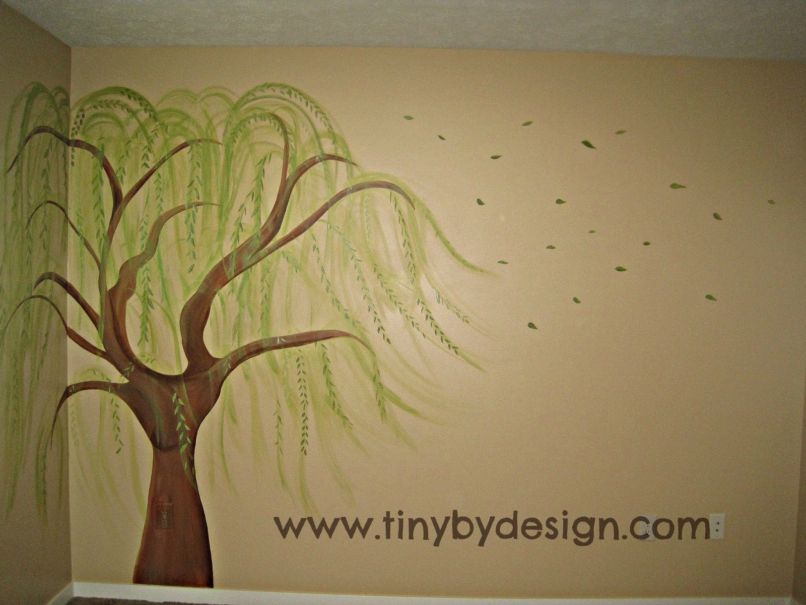 Funky Willow Tree Wall Art Mold - The Wall Art Decorations ...