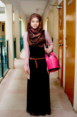 Baju Kerja Muslimah Modern