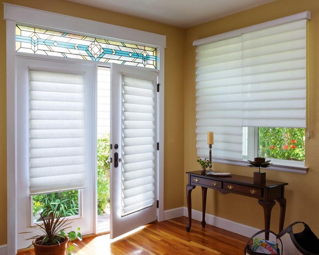 Bruton\'s Decorating: Adding Window Treatments to Patio & Garden Doors