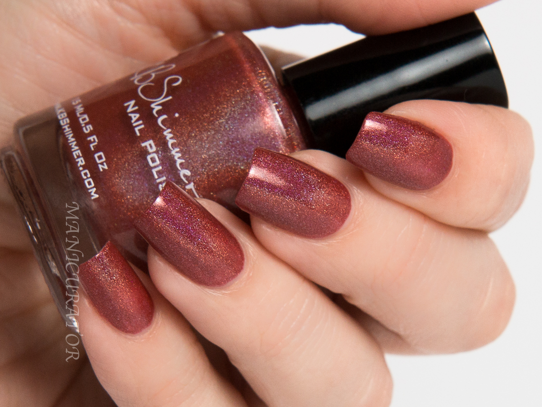 manicurator: KBShimmer Men Are From Marsala Swatch and Review ...