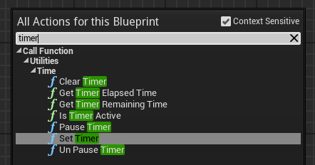 Romero blueprints gamehud timer and custom event a timer is programmed to perform a given function or custom event after finishing the specified time malvernweather Images