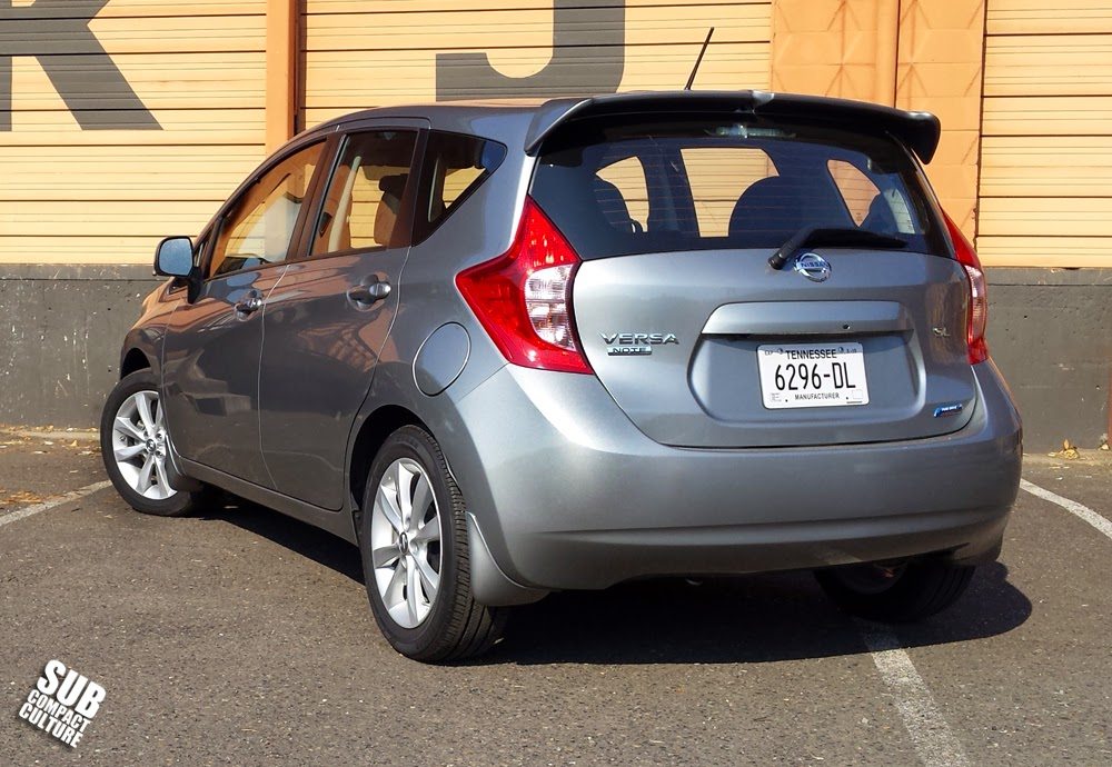 Nissan Versa Note SV rear