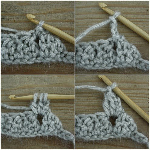 Bobble stitch infinity scarf - Crochet Tutorial