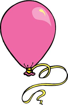 Desenho de balão colorido