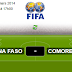 Burkina Faso - Comores match en direct Live du Mercredi 05 mars 2014
