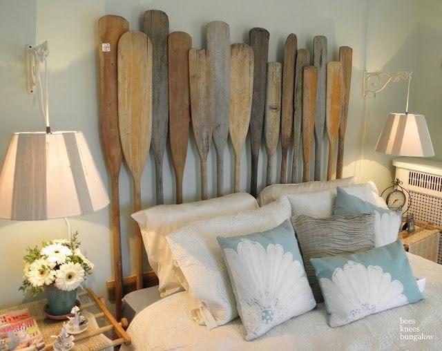 cabecero cama palas de surf