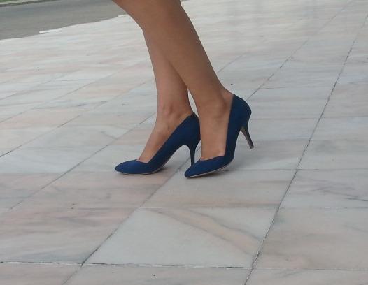 pantofi bleu