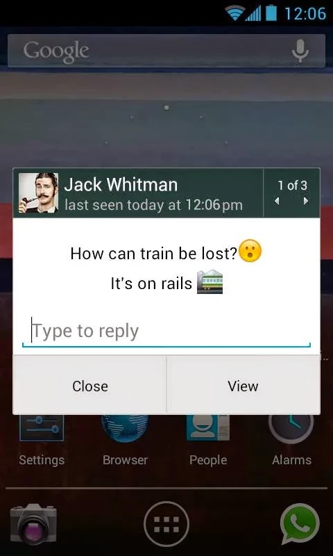 WhatsApp Messenger v2.11.209