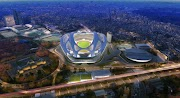 Tokyo's New National Stadium, it's a Bicycle Helmet!