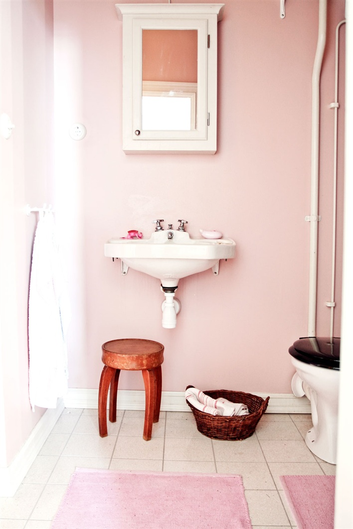 En mi espacio vital muebles recuperados y decoraci n - Cuartos de bano estilo vintage ...