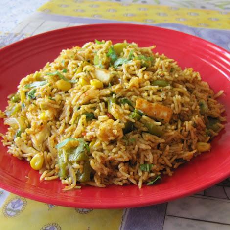 One of my favorite one pot meals is the biriyani Easy Tasty Vegetable Biriyani