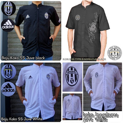 Baju Muslim Koko Bola Juventus