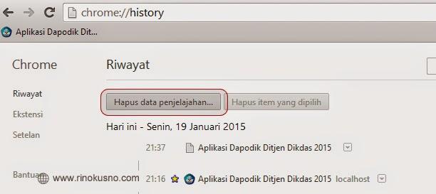langkah diatas selesai dilakukan, silahkan login Aplikasi Dapodikdas