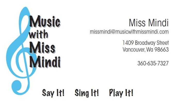 Music With Miss Mindi