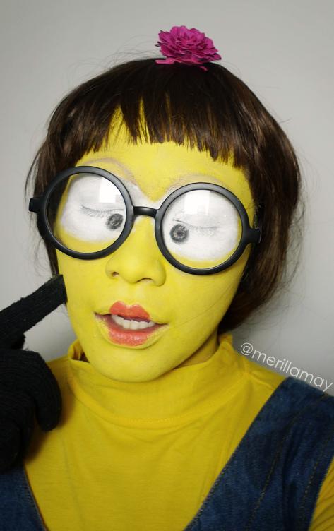 Minion makeup