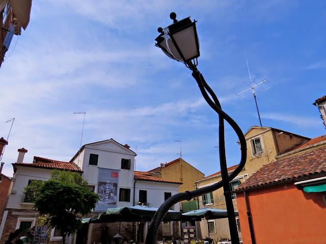 Murano lamp post