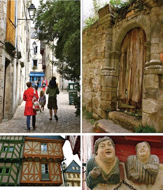 Brittany France, Vannes, summer holidays,