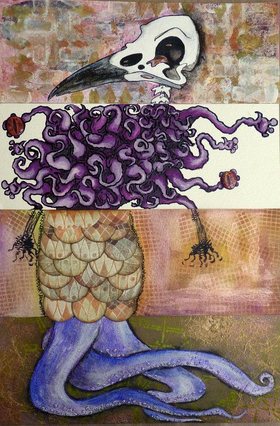 CollaborART - Collaborative Exquisite Corpse project