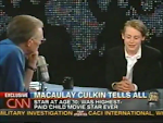 Entrevista de Tom Macaulay Culkin a Larry King